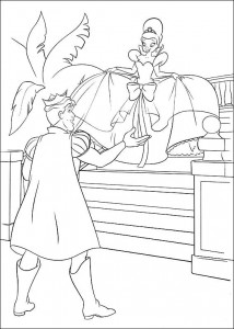 coloring page Princess and the frog (24)