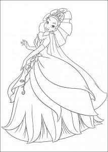 målarbok Prinsessan och grodan (3)