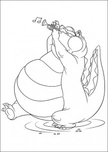 coloring page Princess and the frog (36)