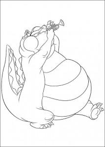 kleurplaat Prinses en de kikker (6)