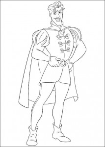coloring page Princess and the frog (7)