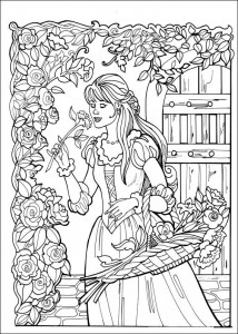 kleurplaat Prinses Leonora (1)