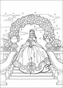 coloring page Princess Leonora (10)