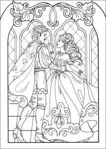 coloring page Princess Leonora (11)