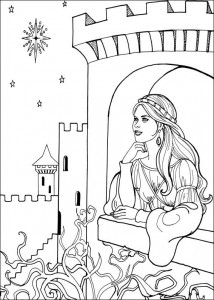 coloring page Princess Leonora (14)