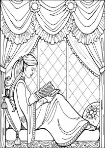 coloring page Princess Leonora (16)