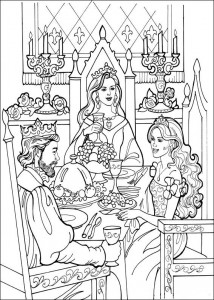 coloring page Princess Leonora (17)