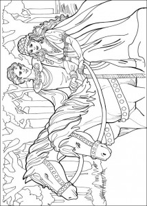 coloring page Princess Leonora (18)