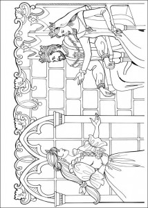coloring page Princess Leonora (2)