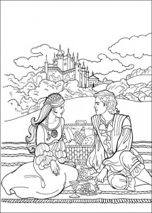coloring page Princess Leonora (20)