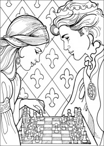 coloring page Princess Leonora (21)