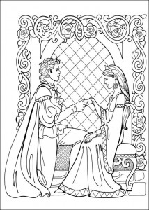 coloring page Princess Leonora (22)