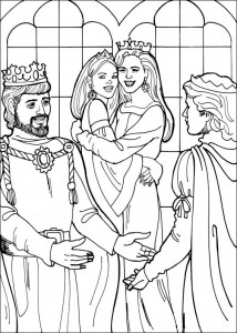 coloring page Princess Leonora (23)