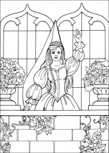 coloring page Princess Leonora (24)