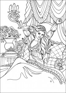 coloring page Princess Leonora (25)