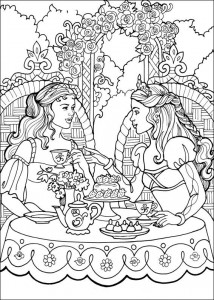 coloring page Princess Leonora (3)