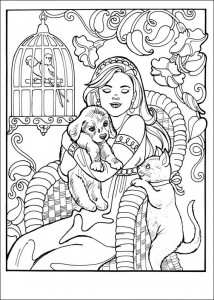 coloring page Princess Leonora (4)