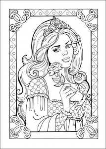 coloring page Princess Leonora (5)