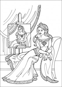 coloring page Princess Leonora (6)