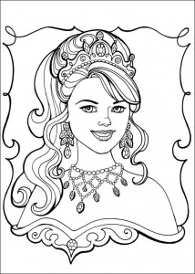 coloring page Princess Leonora (9)