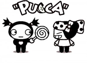 Malvorlage Pucca (2)