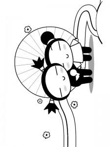 boyama sayfası Pucca (8)
