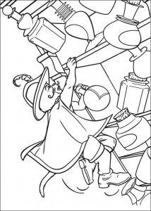 coloring page Puss in Boots (1)
