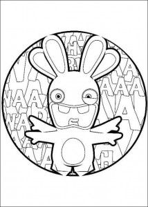 coloring page Rabbids Invasion (14)