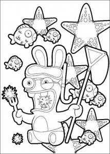 coloring page Rabbids Invasion (16)