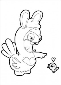 coloring page Rabbids Invasion (3)