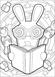 coloring page Rabbids Invasion (5)