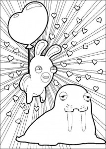 coloring page Rabbids Invasion (6)