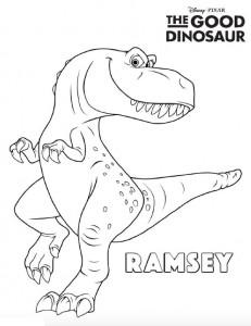 pagina da colorare di ramsey