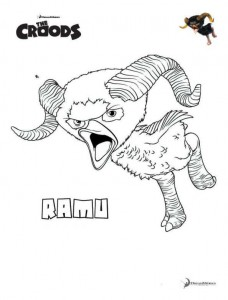 målarbok Ramu