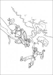 målarbok Rapunzel (1)