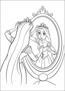 kleurplaat Rapunzel (11)