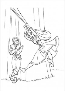 Malvorlage Rapunzel (12)