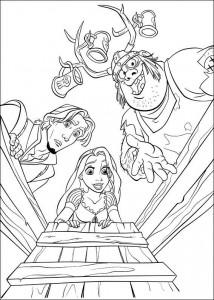 kleurplaat Rapunzel (15)