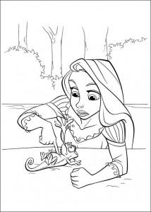 kleurplaat Rapunzel (16)