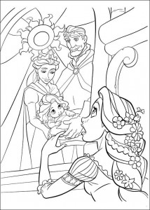 kleurplaat Rapunzel (18)