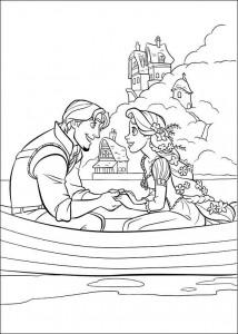 kleurplaat Rapunzel (19)