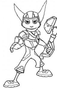 coloring page Ratchet 2