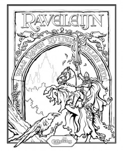 coloriage raveleijn thomas