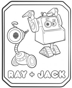coloring page ray jack 2