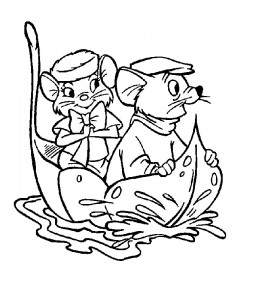coloring page Rescuers (3)