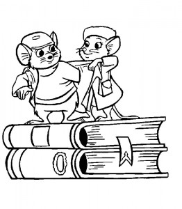 coloring page Rescuers (6)