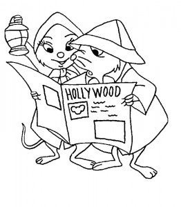 coloring page Rescuers (7)