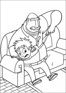 coloring page Regent meatballs (13)