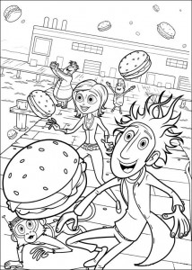 coloring page Regent meatballs (23)