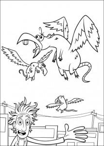 coloring page Regent meatballs (5)